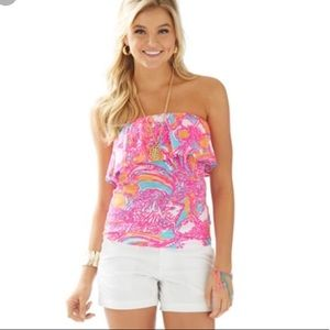 Lilly Pulitzer Tops - Lilly Pulitzer colorful tube top